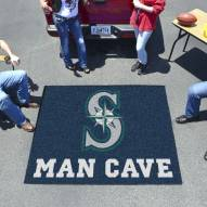 Seattle Mariners Man Cave Tailgate Mat
