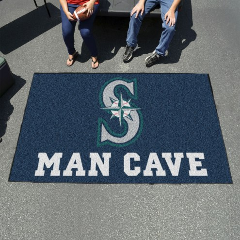 Seattle Mariners Man Cave Ulti-Mat Rug