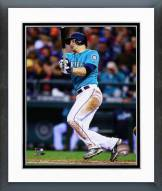 Seattle Mariners Mike Zunino Action Framed Photo