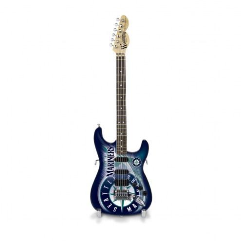 Seattle Mariners Mini Replica Guitar