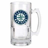 Seattle Mariners MLB 1 Liter Glass Macho Mug