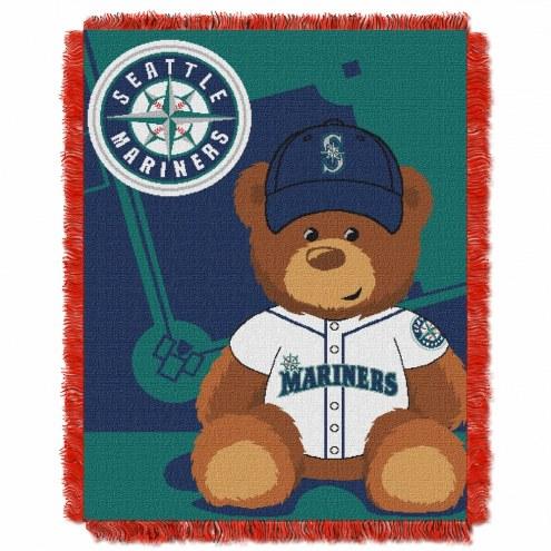 Seattle Mariners MLB Baby Blanket
