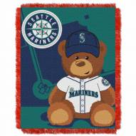 Seattle Mariners MLB Baby Blanket