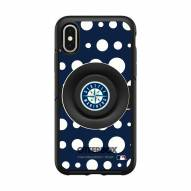 Seattle Mariners OtterBox Symmetry Polka Dot PopSocket iPhone Case