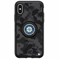 Seattle Mariners OtterBox Urban Camo Symmetry PopSocket iPhone Case