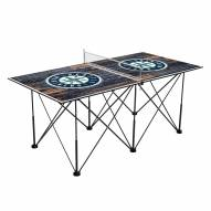 Seattle Mariners Pop Up 6' Ping Pong Table
