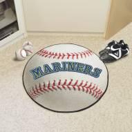 Seattle Mariners Baseball Rug