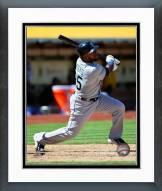Seattle Mariners Rickie Weeks Action Framed Photo