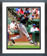 Seattle Mariners Robinson Cano Action Framed Photo