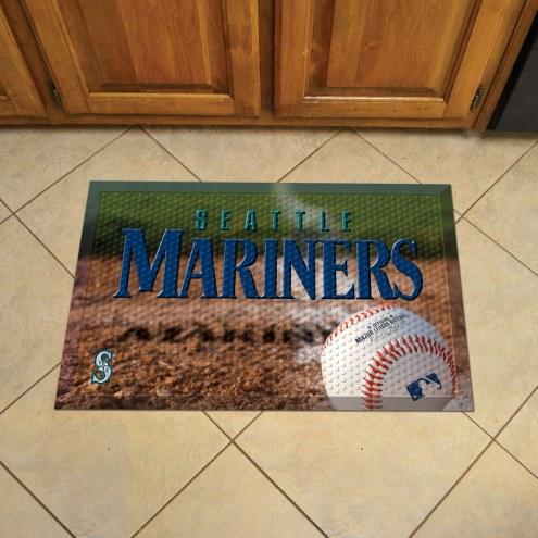 Seattle Mariners Scraper Door Mat