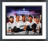 Seattle Mariners Seattle Mariners Team Composite Framed Photo