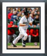 Seattle Mariners Seth Smith Action Framed Photo
