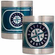 Seattle Mariners Stainless Steel Hi-Def Coozie Set