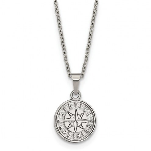 Seattle Mariners Stainless Steel Pendant Necklace