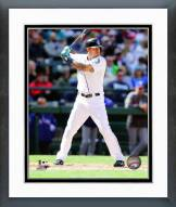 Seattle Mariners Stefen Romero Action Framed Photo