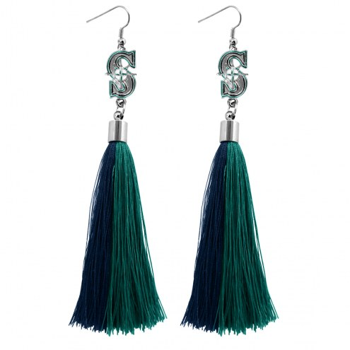 Seattle Mariners Tassel Earrings