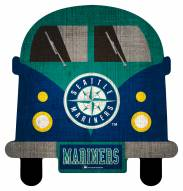 Seattle Mariners Team Bus Sign