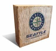 Seattle Mariners Team Logo Block