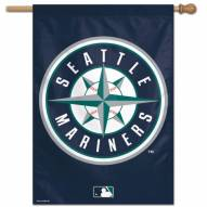 """Seattle Mariners 28"""" x 40"""" Banner"""