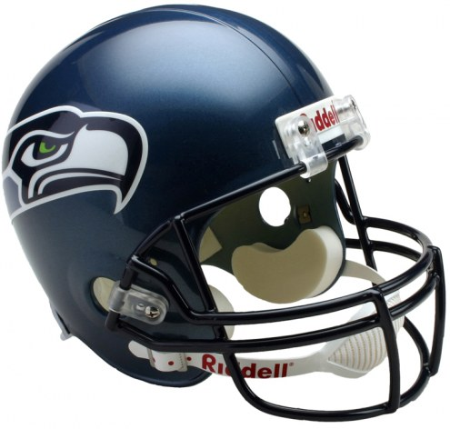 Seattle Seahawks 02-11 Riddell VSR4 Collectible Full Size Football Helmet