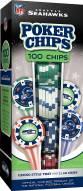 Seattle Seahawks 100 Poker Chips