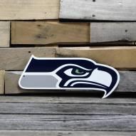 """Seattle Seahawks 12"""" Steel Logo Sign"""