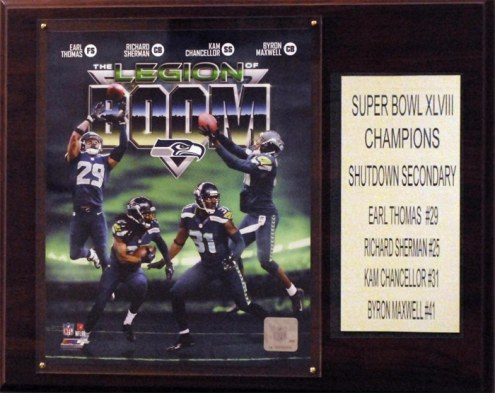 "Seattle Seahawks 12"" x 15"" Legion of Doom Plaque"