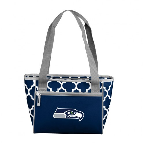 Seattle Seahawks 16 Can Cooler Tote