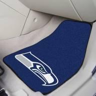 Seattle Seahawks 2-Piece Carpet Car Mats