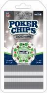 Seattle Seahawks 20 Piece Poker Chips Set