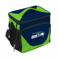 Seattle Seahawks 24 Can Cooler