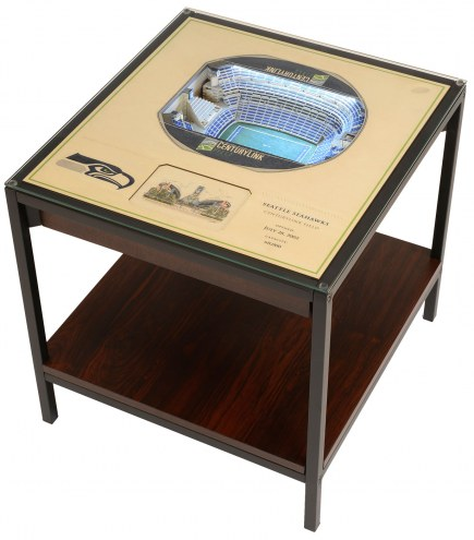 Seattle Seahawks 25-Layer StadiumViews Lighted End Table