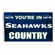Seattle Seahawks 3' x 5' Country Flag