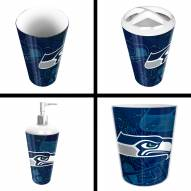 Seattle Seahawks 4-Piece Bath Set