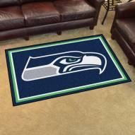 Seattle Seahawks 4' x 6' Area Rug