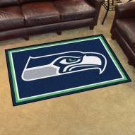 Seattle Seahawks 4' x 6' Area Rug