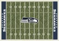 Seattle Seahawks 4' x 6' NFL Home Field Area Rug