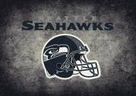 Seattle Seahawks 6' x 8' NFL Distressed Area Rug