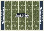 Seattle Seahawks 6' x 8' NFL Home Field Area Rug