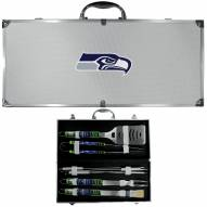 Seattle Seahawks 8 Piece Tailgater BBQ Set
