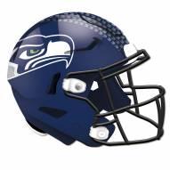 Seattle Seahawks Authentic Helmet Cutout Sign