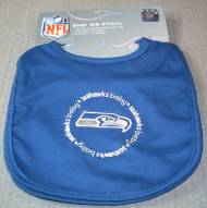 Seattle Seahawks Baby Bib - 2 Pack