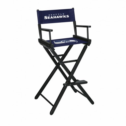 Seattle Seahawks Bar Height Director's Chair