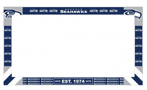 Seattle Seahawks Big Game TV Frame