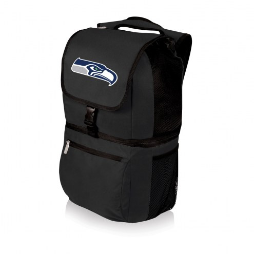 Seattle Seahawks Black Zuma Cooler Backpack