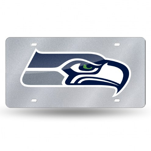 Seattle Seahawks Bling License Plate