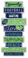 Seattle Seahawks Celebrations Stack Sign