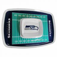 Seattle Seahawks Chip & Dip Tray