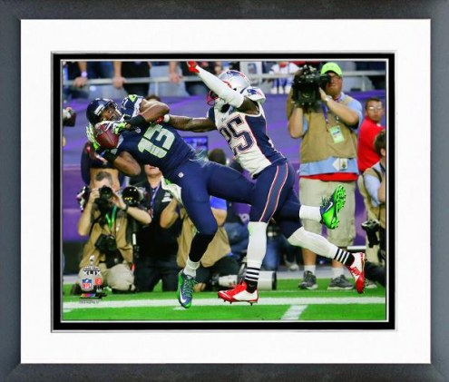 Seattle Seahawks Chris Matthews Super Bowl XLIX Action Framed Photo