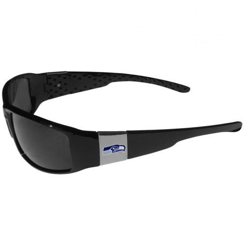 Seattle Seahawks Chrome Wrap Sunglasses